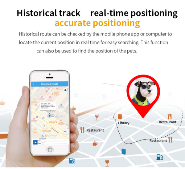 Louie Tracker Historisk tracking